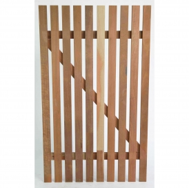 Jarrah Garden Gate flat Top